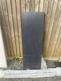 Anthracite fascia board 1200x450mm