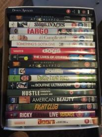 17 DVD's - see titles