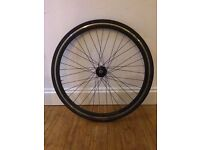 Wheel with tyre for Fixie or other bike