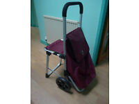Shopping Trolley with seat new