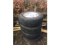 Landrover wheels and tyres