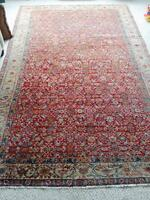 Hand-woven Persian style rug