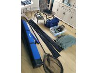 Carp fishing tackle bulk load selling all as one very rarely used almost new excellent condition