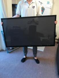 "Samsung 50 "" wall tv - brand new condition"
