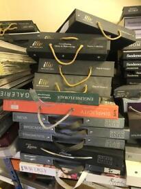 Various fabric & wallpaper sample books