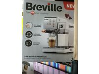 New BREVILLE One-Touch Coffee Machine VCF109 smeg krups Nescaf Dolce