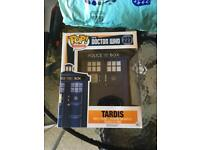 TARDIS POP vinyl figure