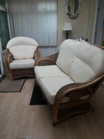 Complete set of Wicker Furniture