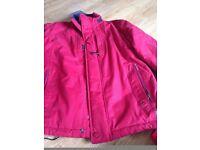 douglas active red coat size medium vgc cost £120