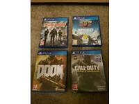 Ps4 Games steep the division doom call of duty