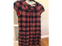 BODEN girls lined dress 11-12 years