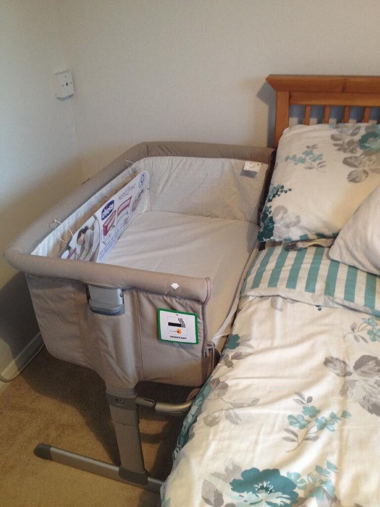 Chicco Next2me Side Sleeping Cot Next To Me Beige In Sunderland Tyne And Wear Gumtree