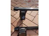 Thule adjustable roof bars