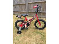 "Falcon G Force 14"" wheels child's cycle-Ex Cond"