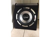 Vibe Pulse vented v12 Sub and Amp