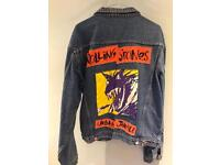 Rolling Stones 90/91 Denim Tour Jacket - large