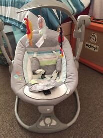 Baby swing only 2 months old. £60