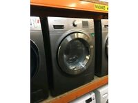 SAMSUNG 8/6 KG GRAPHITE WASHER DRYER ECOBUBBLE