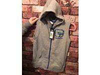 Carbrini sleeveless hoodie (new)