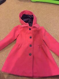 Girls pink jacket 2-3 years