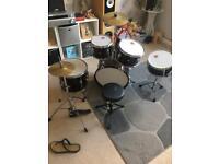 Full kids size drum set