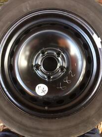 205/60/16 tyre & rim