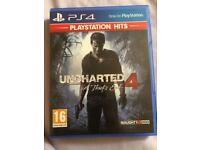 Uncharted 4: A Thief's End Gaming / Playstation4 Games