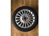Fiat 500 alloy wheel. Refurbished