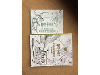 Harry Potter colouring books