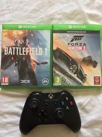 Battlefield 1, Forza Horizon 3 and Xbox controller !