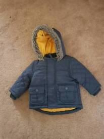 Boys 3-6 months winter coat