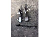 2 Dumbbells + Heavy Duty Power Twister