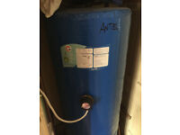 Hot water cylinder in gvc, 1500+400, no longer needed