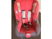 Britax First Class Ultra Car Seat USED Red Colour UK Unisex GIRLS BOYS BABIES