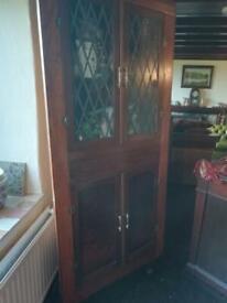 Corner double cupboard for sale