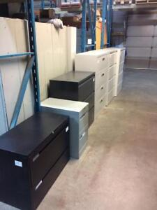 USED Office Furniture - Lateral Filing Cabinet Extravaganza!!