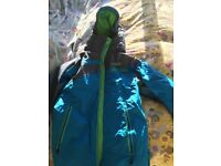 Ski items 2 adult 1 child-quality and good cond