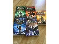 5 Unread Percy Jackson books