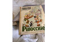 Pinocchio children's album