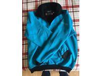 Galvin green fleece jacket.