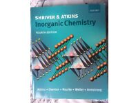 Chemistry Undergraduate Core Textbooks - Shriver, Atkins and Clayden