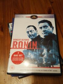 Ronin dvd 2 disk film robert denero