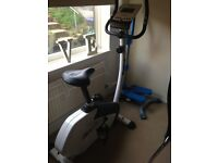 Exercise bike and stepper