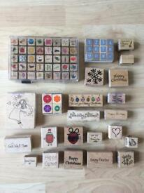 Mixed craft stamps