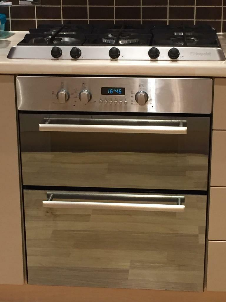 Hotpoint Double Oven Built Under Counter