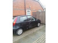 Very low mileage fiat punto with one owner from new