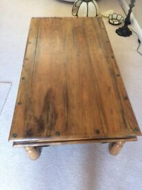 Large Thacker style coffee table