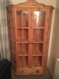 Two door Glass Cabinet