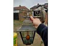 External outside wall light brand new never fitted.