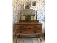 Antique dresser/drawers.